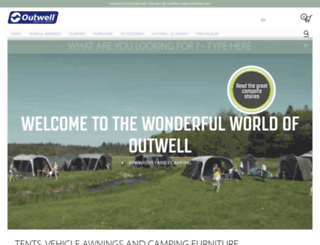 outwell.com screenshot