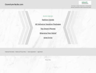 ouverture-facile.com screenshot