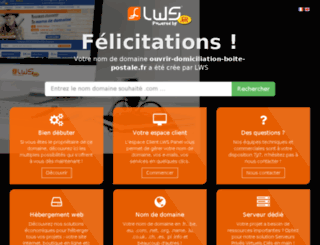 ouvrir-domiciliation-boite-postale.fr screenshot