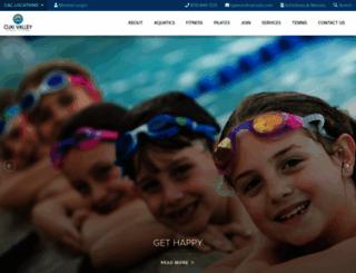ovac.caclubs.com screenshot