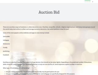 ovation15.auction-bid.org screenshot