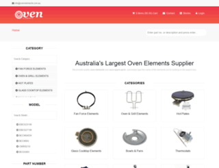 ovenelements.com.au screenshot