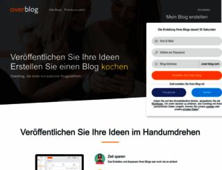 over-blog.de screenshot