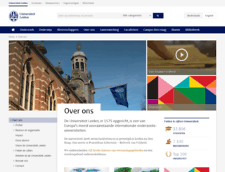 over.leidenuniv.nl screenshot