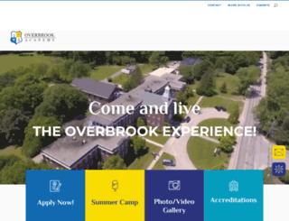overbrookacademy.org screenshot