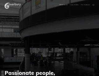 overbury.com screenshot