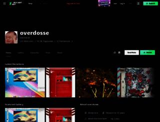 overdosse.deviantart.com screenshot