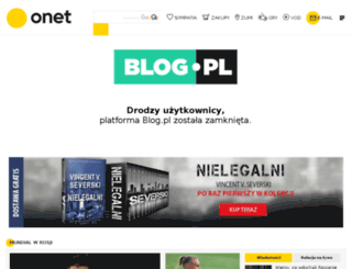 overdressed.blog.pl screenshot