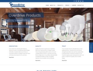 overdriveasia.com screenshot