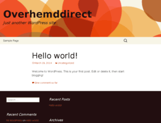 overhemddirect.nl screenshot