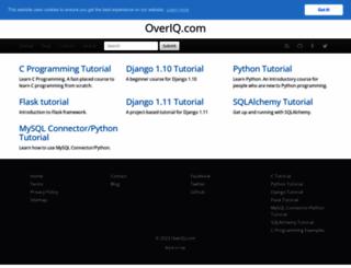 overiq.com screenshot
