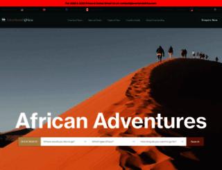 overlandafrica.com screenshot