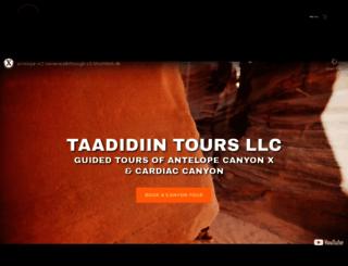 overlandcanyontours.com screenshot