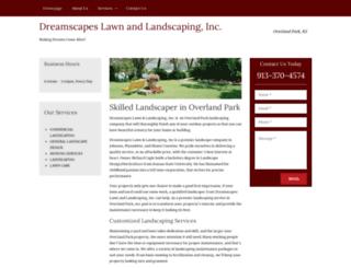 overlandparklandscaping.net screenshot