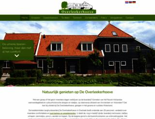 overleekerhoeve.com screenshot