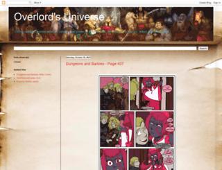 overlordbobsuniverse.blogspot.ca screenshot
