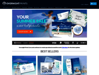 overnightprints.com screenshot