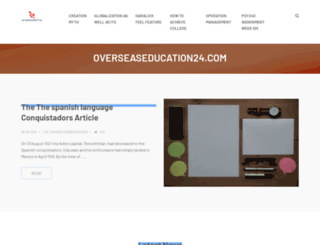overseaseducation24.com screenshot