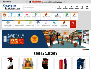 overstockdrugstore.com screenshot