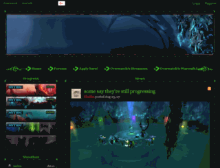 overwatch-malganis.enjin.com screenshot