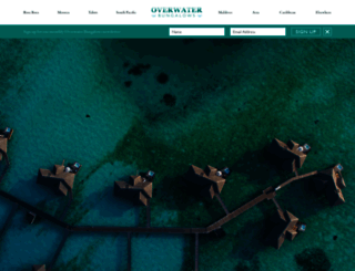 overwaterbungalows.net screenshot