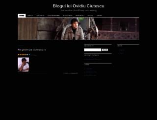 ovidiuciutescu.wordpress.com screenshot