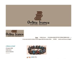ovidiuivancu.wordpress.com screenshot