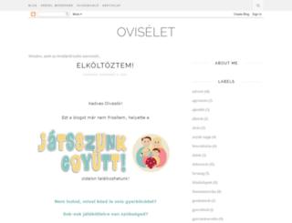 oviselet.blogspot.hu screenshot