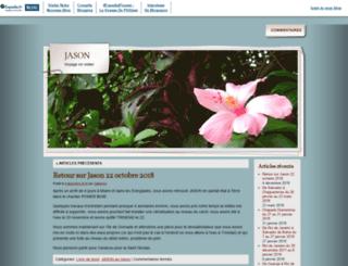 ovnijason.blogs-de-voyage.fr screenshot