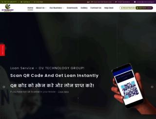 ovtechnology.in screenshot