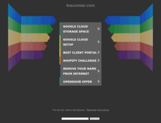 owa.biscomisr.com screenshot