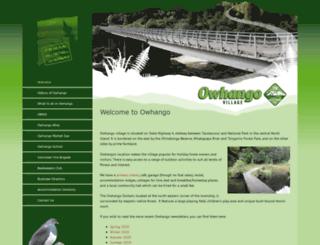 owhango.co.nz screenshot