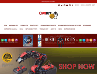 owirobot.com screenshot