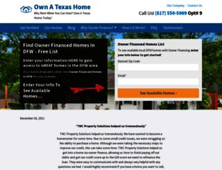 ownatexashome.com screenshot