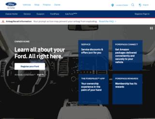 owner.ford.com screenshot