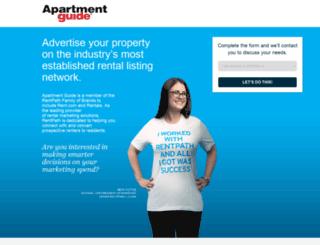 owner.rentals.com screenshot
