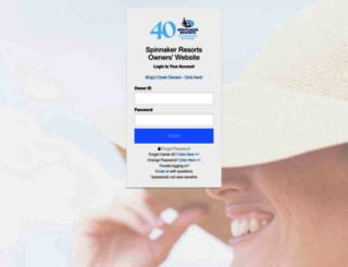 owners.spinnakerresorts.com screenshot