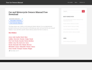 ownersmanual.biz screenshot