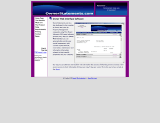 ownerstatements.com screenshot