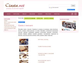 owocowe.ciasta.net screenshot