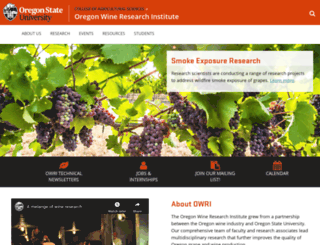 owri.oregonstate.edu screenshot