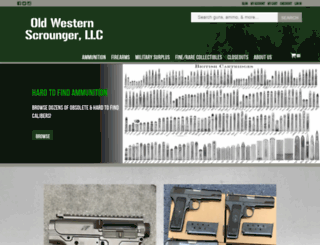 ows-ammo.com screenshot