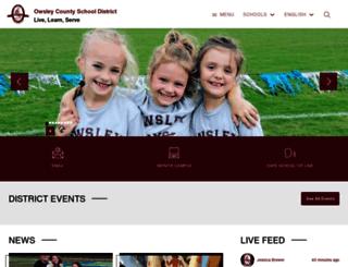 owsley.kyschools.us screenshot