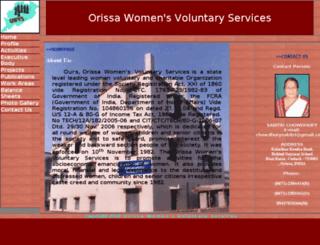 owvsorissa.org screenshot