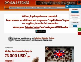 ox-gallstones.com screenshot