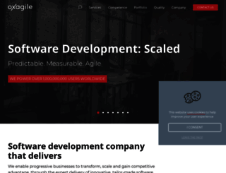 oxagile.com screenshot