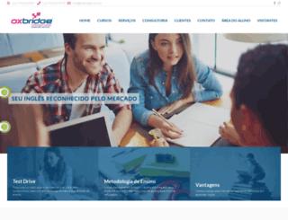 oxbridge.com.br screenshot
