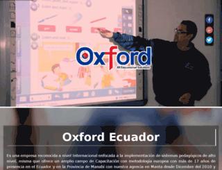 oxford-ecuador.com.ec screenshot