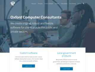 oxfordcc.co.uk screenshot