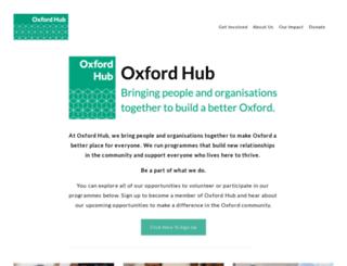 oxfordhub.org screenshot